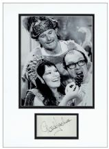 Glenda Jackson Autograph Display - Morecambe & Wise